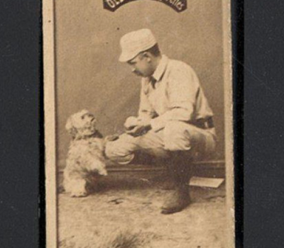 cigarette cards,baseball card,Mickey Mantle, Labrador Retriever,Art Whitney,Hans Wagner