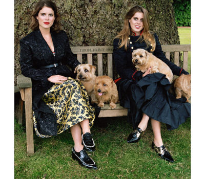 Norfolk Terrier, Vogue Magazine, Sarah Ferguson, Duchess of York,Queen Elizabeth,Princess Beatrice,Princess Eugenie,
