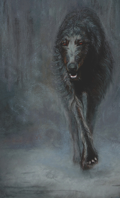 Scottish Deerhound,Robert Burns
