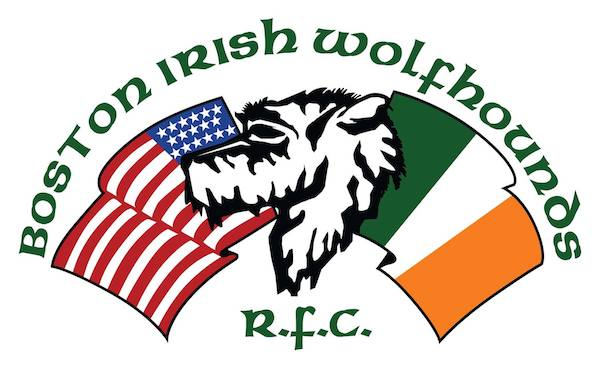 rugby, Irish Wolfhound,mascot,Boston Irish Wolfhounds Rugby Football Club