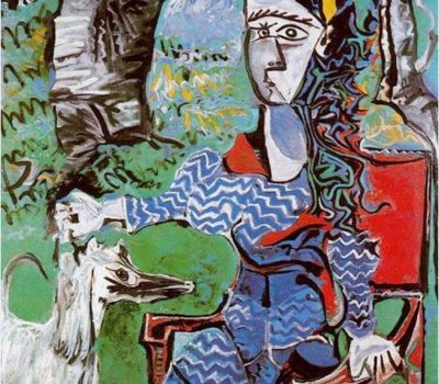 Afghan Hound,art,Pablo Picasso,Boxer, Poodle, Dachshund