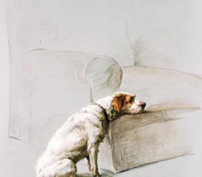 Fox Terrier,King Edward VII, Caesar,Stinky