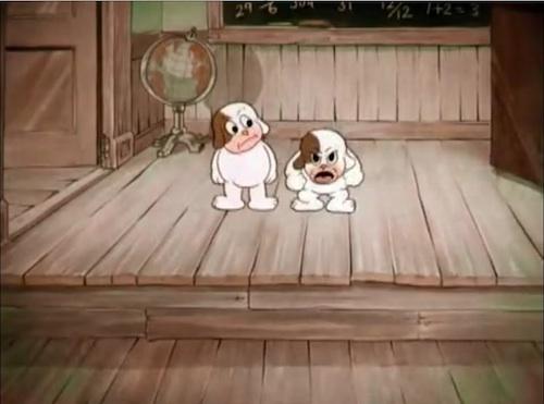 Ex and Ham, Saint Bernard, St. Bernard,cartoon, TV,