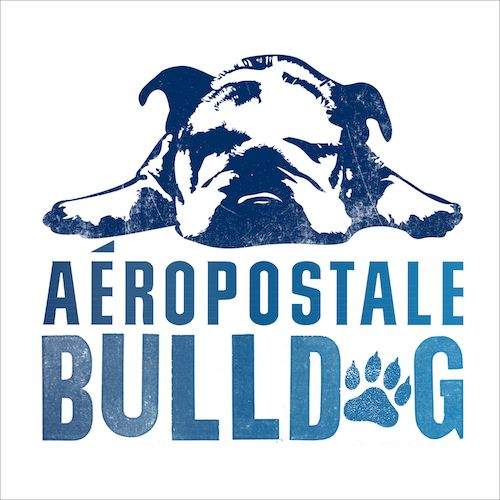 mascot,Bulldog,Aeropostale,advertising
