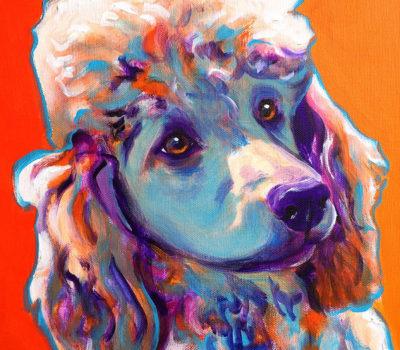 Poodle,Obedience, Titles, Helen Whitehouse Walker