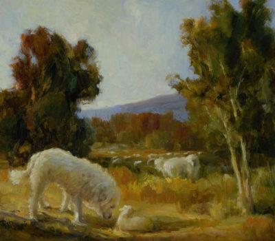 Great Pyrenees, historyBasquaerie Kennels,Mary Crane