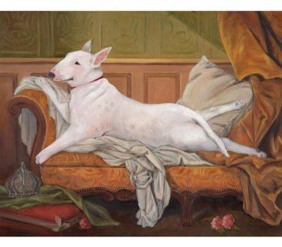 Bull Terrier, movie,Baxter,