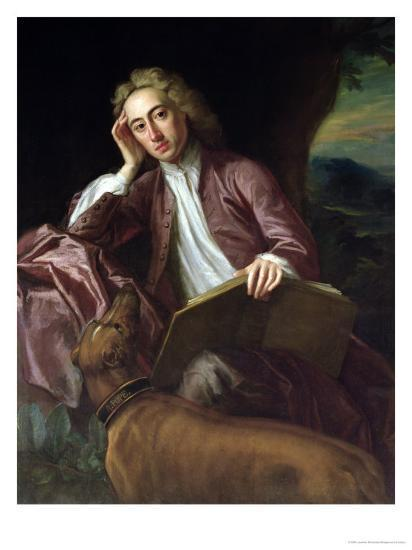 Great Dane, Alexander Pope,Bounce,dog collar,Frederick, Prince of Wales
