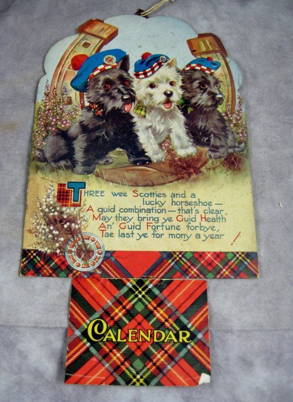 Scottish Terrier, tam o' shanter,history,advertising