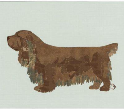 Sussex Spaniel,Bean,Stump,Westminster Kennel Club Dog Show,Best in Show,Baron c. Bylandt,Beau Mouvement de la Queue!