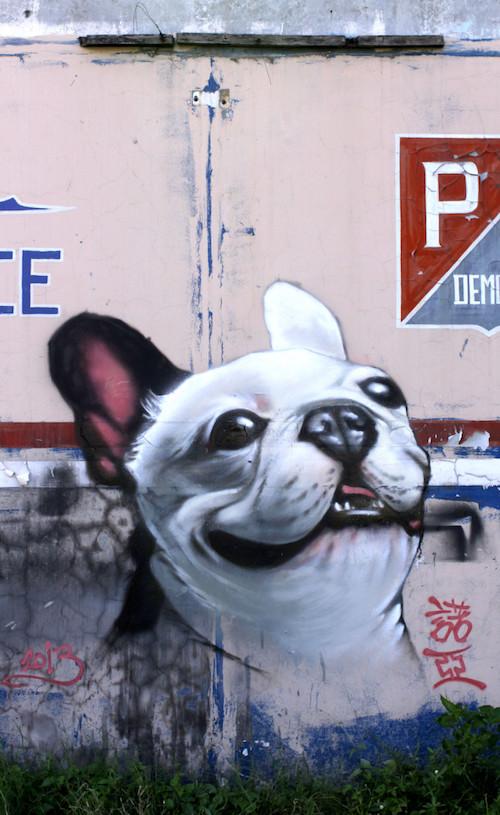 Pembroke WelshCorgi,Eric Noah, graffiti,resin,Kidrobot,Kurobokan
