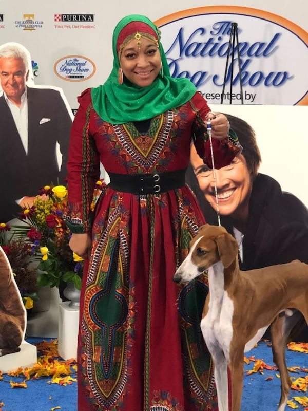 Azawakh, Aliya Taylor,National Dog Show