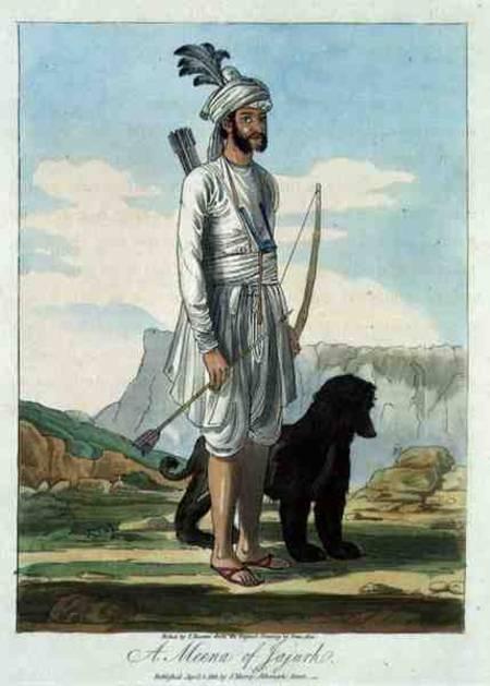 A Meena of Jajurh,Afghan Hound, Zardin,Thomas Duer Broughton,India,Margaret Niblock,history,