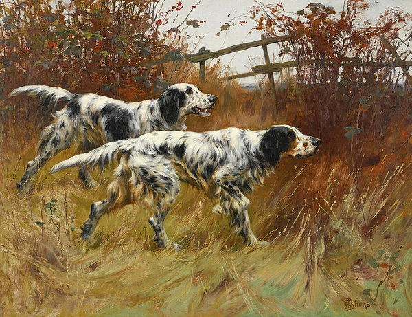 English Setter, Ch. Rock Falls Colonel,Sporting Group Breeder of the Year, Melissa Newman,Colonel and Mrs. W. T. Holt