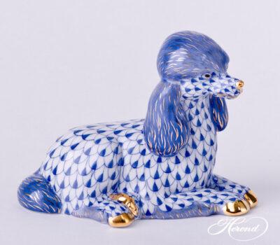 Poodle, blue, color