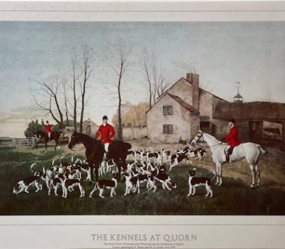 Foxhounds,fox hunting, Quorn pack,Thomas Boothby,Hugo Meynell