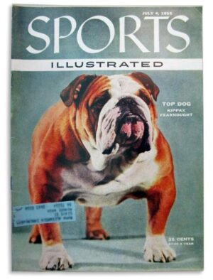 Bulldog, mascot, Best in Show, Westminster Kennel Club, Handsome Dan,Ch. Kippax Fearnought,Sports Illustrated,magazine cover,Ch. Strathtay Prince