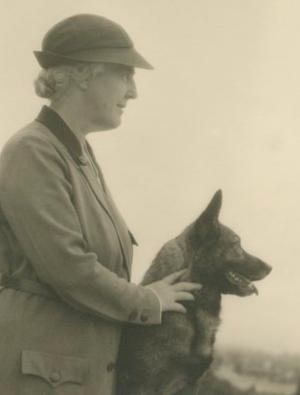 Herbert Hoover, Lou Henry Hoover, Vogue Magazine, Irish Wolfhound, Belgian Malinois, Gordon Setter,