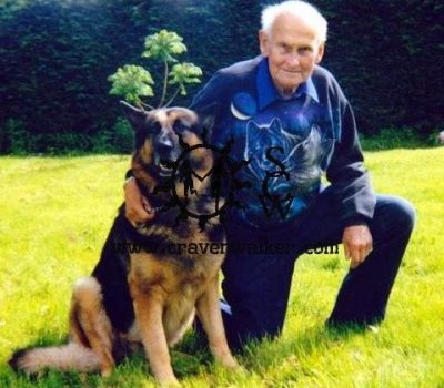 German Shepherd Dog, lava lamp, astro lamp, Edward Craven-Walker
