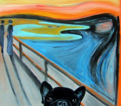 Toller Scream, French Bulldog,Nova Scotia Duck Tolling Retriever, French Bulldog, Frenchie Death Yodel