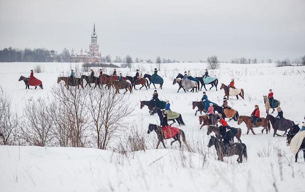 Borzoi, Russian Wolfhound, hunt, Rita Lozhkina,Woodbrook Hunt Club,Grand Duke, Perchino,Joseph B. Thomas