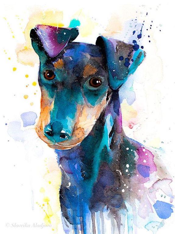 Manchester Terrier,Samuel Handley,Black and Tan Terrier, English Black and Tan Terrier,Hugh Dalziel,John Walsh