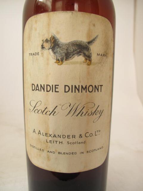 Dandie Dinmont Terrier, scotch whisky