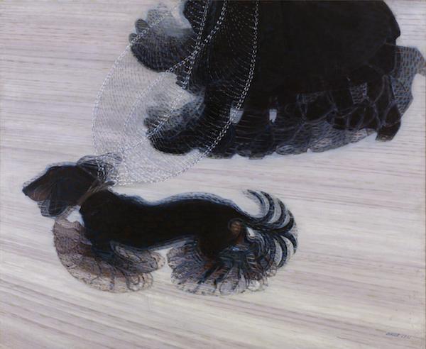 Dachshund, art, Tom Luccock,Dynamism of a Dog on a Leash,Giacomo Balla,Robert C. Morgan