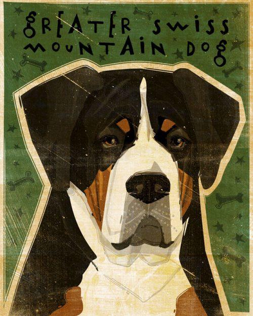 Grosser Schweizer Sennehund, Greater Swiss Mountain Dog, J. Frederick,Patricia Hoffman, Perrin G. Rademacher,August A. Busch Jr