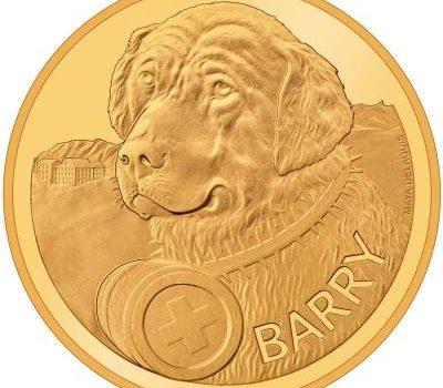 Saint Bernard, Barry, coin