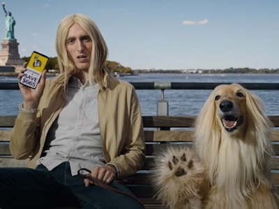 When an Afghan Hound appears in a TV commercial, it's usually in a role that denotes glamor, elegance, and refinement. The insurance company, Liberty Mutual, decided to cast an Afghan in a role that any breed could have played. Check it out: What we're used to seeing for an Afghan Hound is this kind of role:  The human actor in the first commercial is Dustin Ingram, but once again, information on the dog is scant. We wonder when the powers-that-be will realize that many of their viewers and potential customers actually do want to learn more about the dog in their ads.... Afghan Hound, ad, commercial, TV, Liberty Mutual